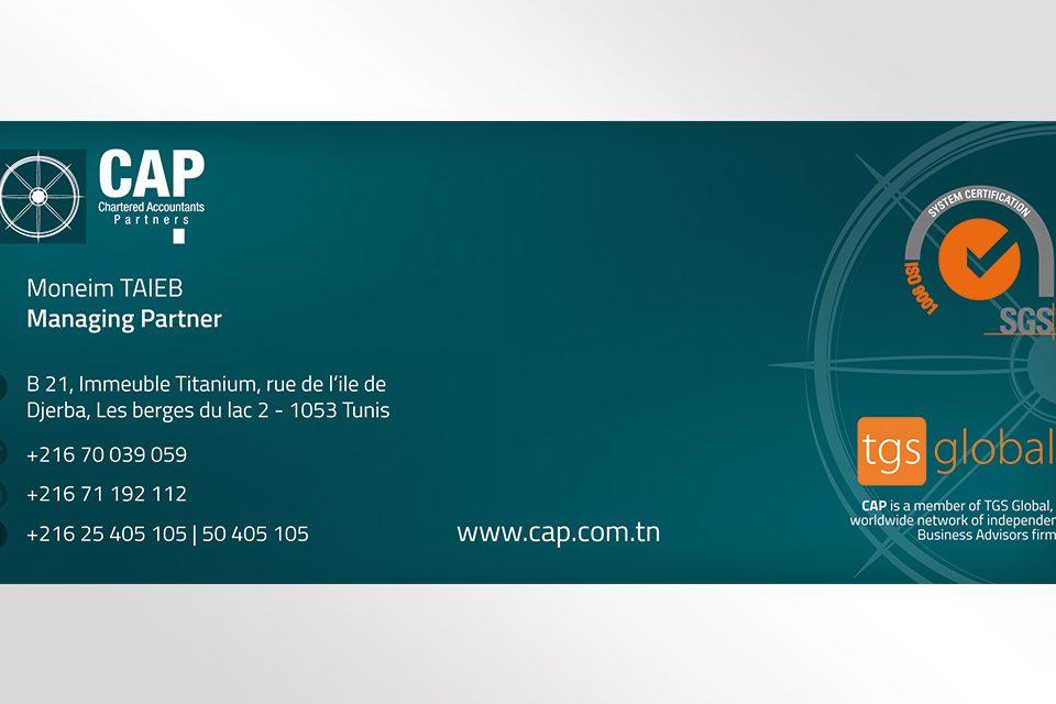 Cartes de visites CAP