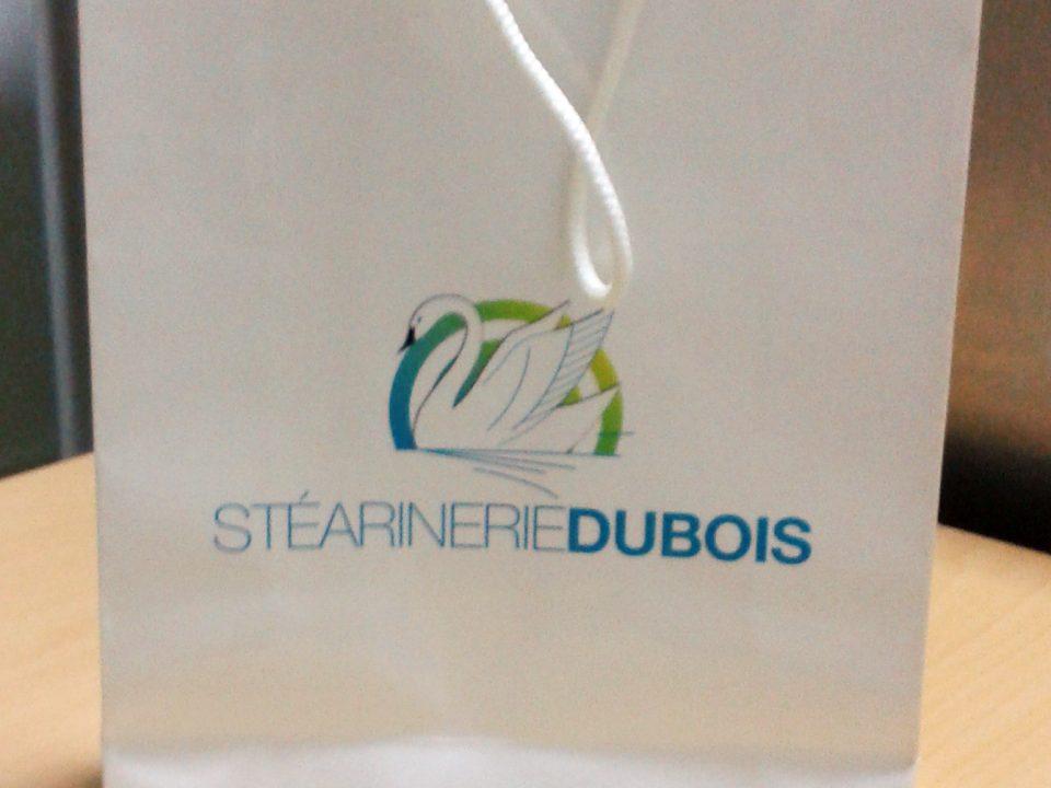 Sac en papier Stéarinerie Dubois