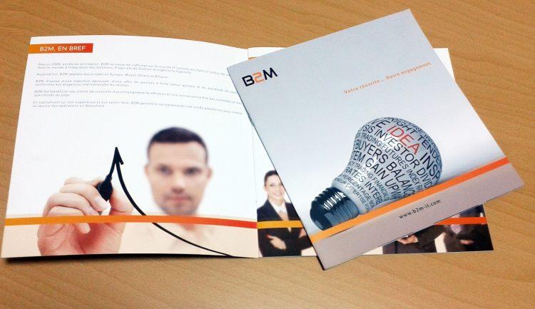 Conception et impression Brochure institutionnelle