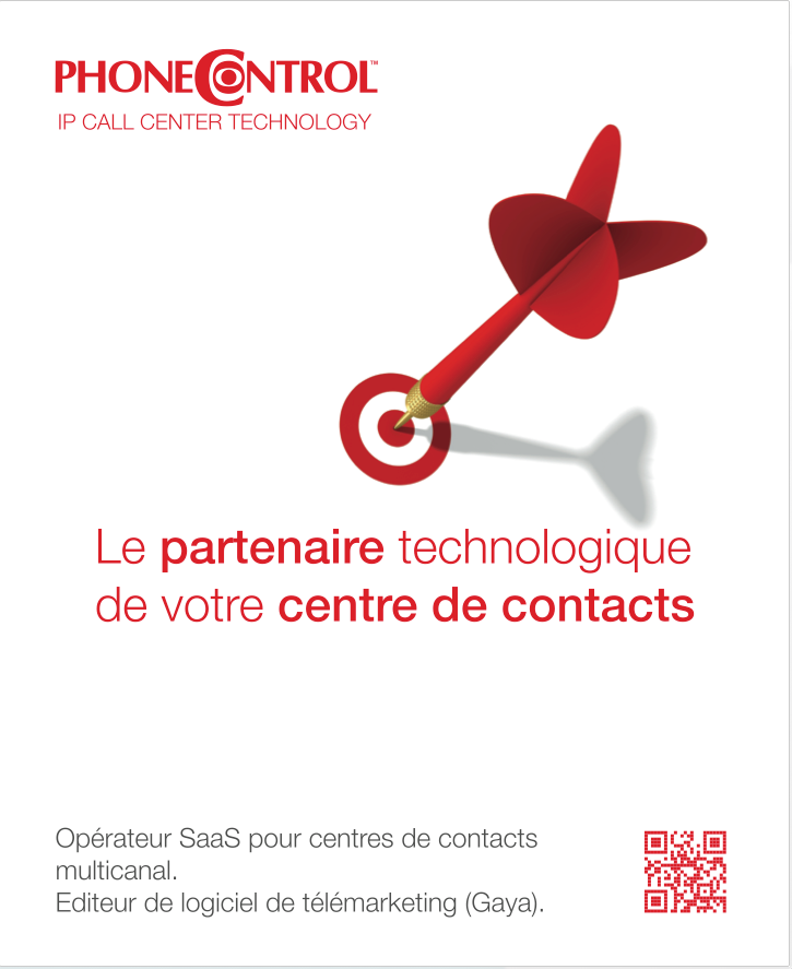 Conception graphique affiche phoneControl