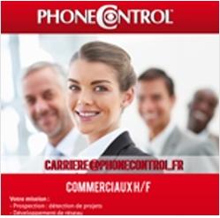 Annonce Facebook pour PhoneControl