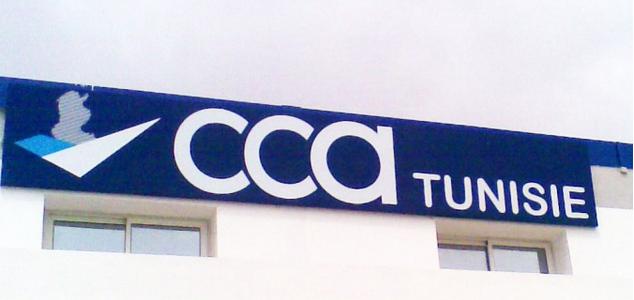 enseigne lumineuse CCA