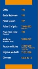 Conception graphique affiche numéros mecahers