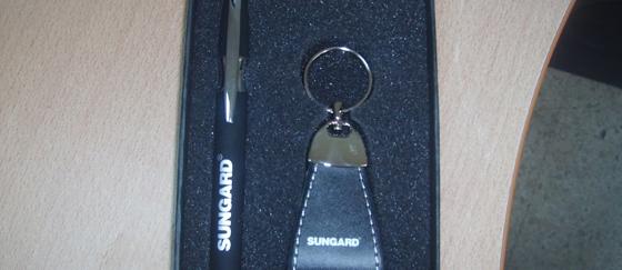 Article de cadeau pour Sungard