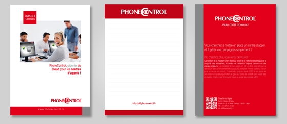 Bloc notes PhoneControl