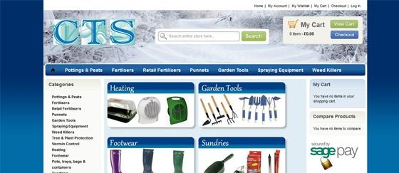 Habillage Site web CTS UK