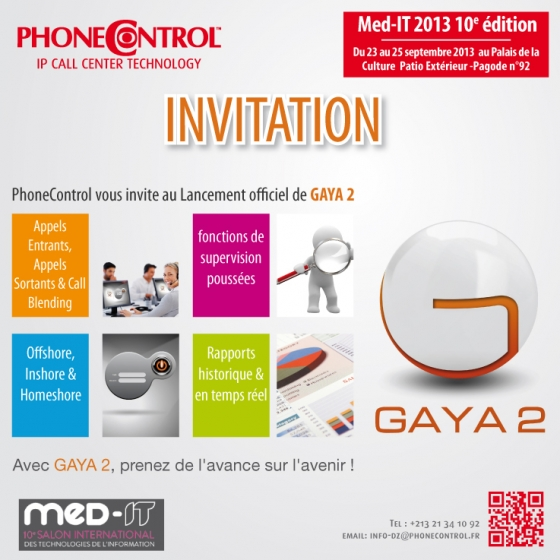 Invitation MEDiT - PhoneControl