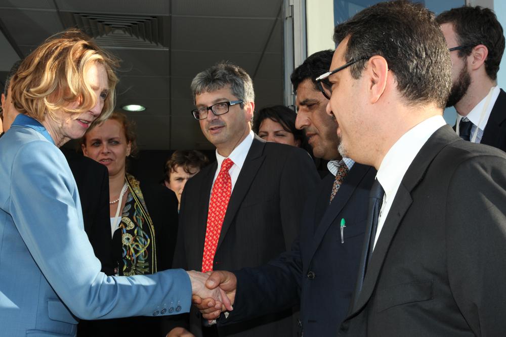 visite-délégation officielle française Mecahers Aerospace
