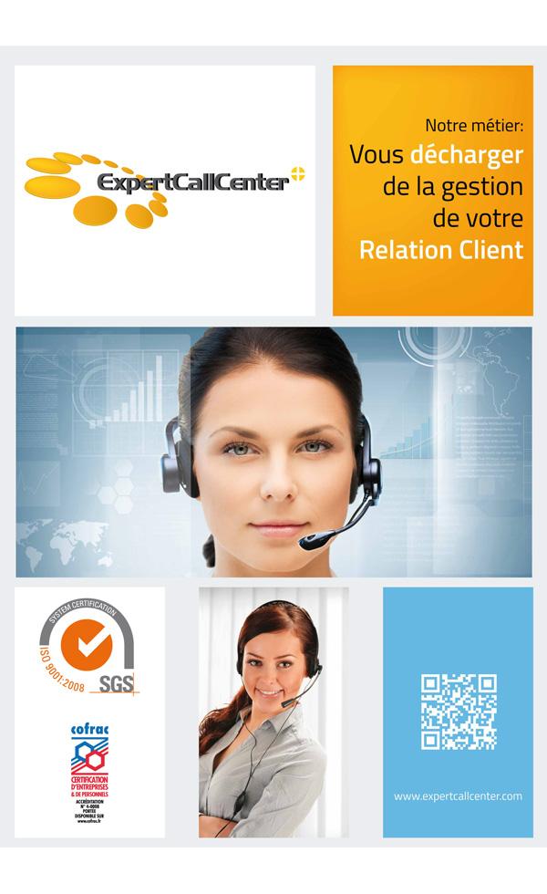 Affiche Expertcallcenter