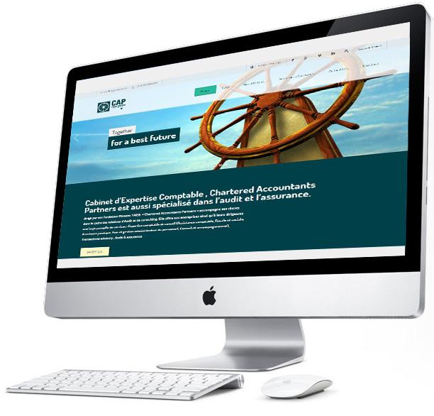 Conception site web CAP