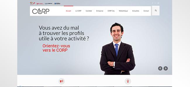 Conception Site web CORP