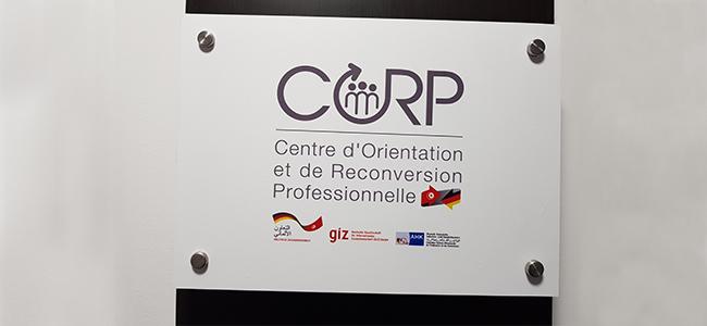 Enseigne Signalétique Bureaux du CORP
